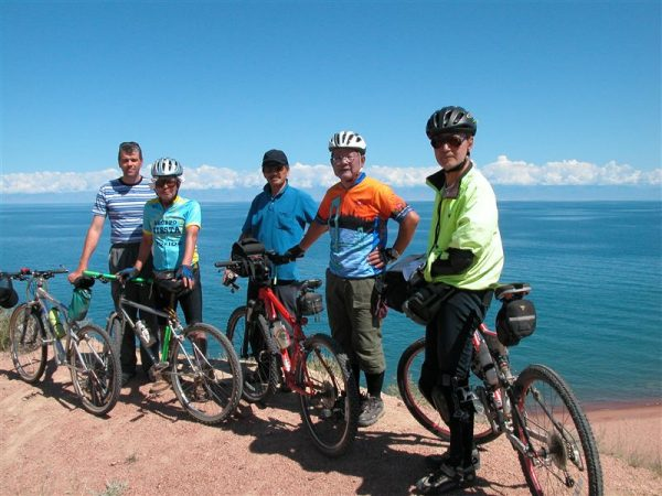 Cycling tour over Kyrgyzstan