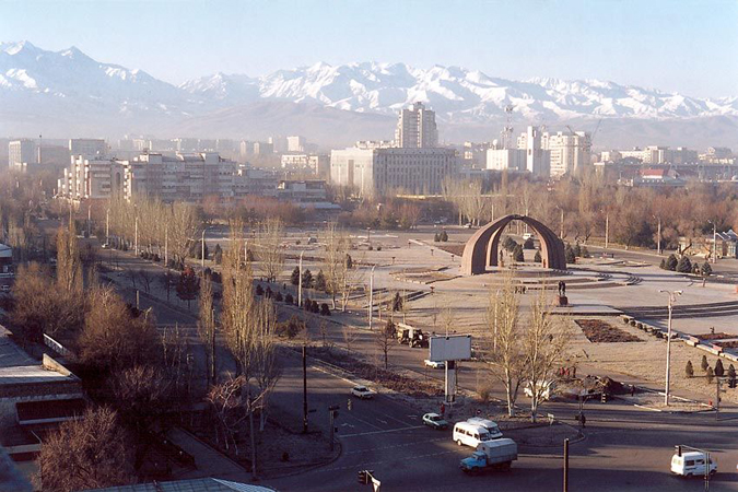 Bishkek City is the biggest city and the capital of Kyrgyzstan