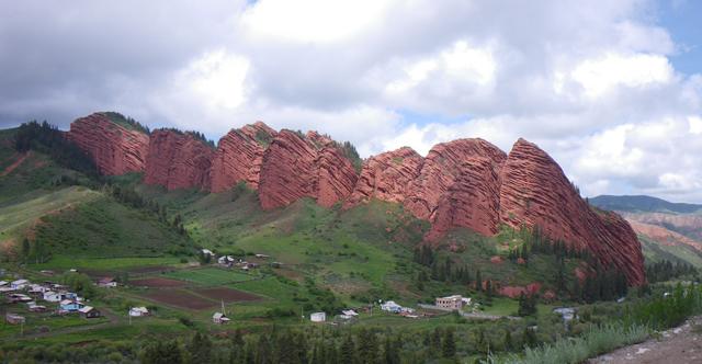 Jety-Oguz range