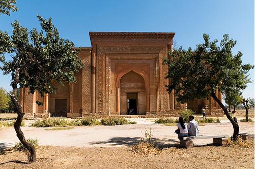 Kara-Khanid Mausoleum in Uzgen