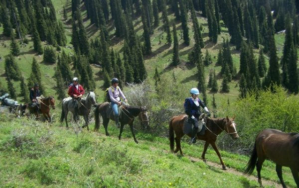 HORSE TOUR IN ISSYK-KUL REGION
