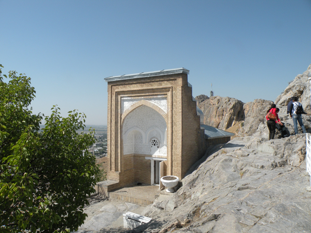 Babur house on the Suleiman mountain