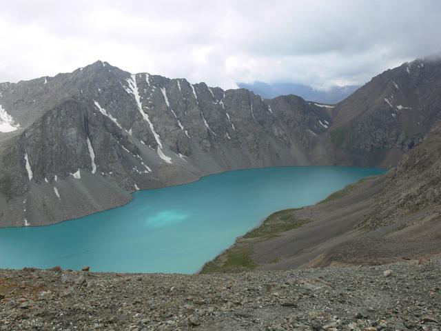 Ala-Kol lake in Issyk-Kul Bioshere reserve