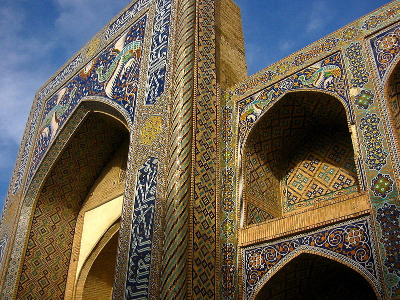 Mosque of Bukhara (source: Kalta minor, Khiva (source: http://www.soliq.uz/ru/photo_gallery/)