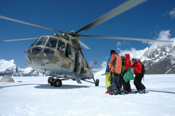 Winter Heliskiing Region for skiing Terskey Ala-Too (Issyk-Kul region)